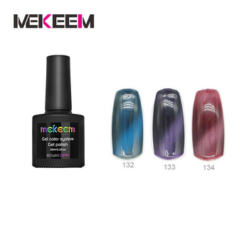 Mekeem's Cat Eye Color Gel Nail Polish
