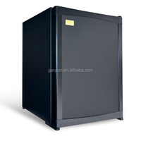40L Hotel and home use black mini bar fridge with Solid door(GRT-XC40)