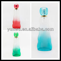 curve perfume glass bottle