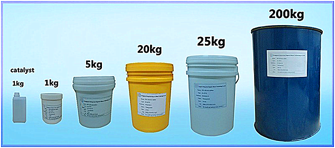 factory price liquid silicone for mold making pourable liquid rtv2 silicone rubber