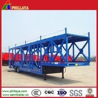 Cars/Suvs Carrier Semi Flat Trailers For Cars With 2/3 Floors