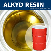 Low price alkyd resin for PU wood varnish
