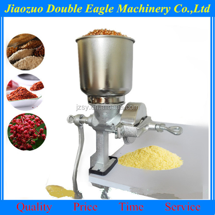 multifunction Manual grinder for peanut, beans hand operate grain powder mill tinning flour mill