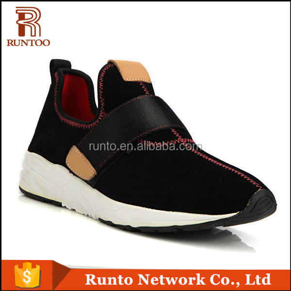 Light weight 2016 new model men comfortable hot sell sports casual handmade shoes
