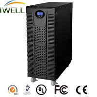 high frequency 1 phase lcd display dsp online 15 kva portable ups