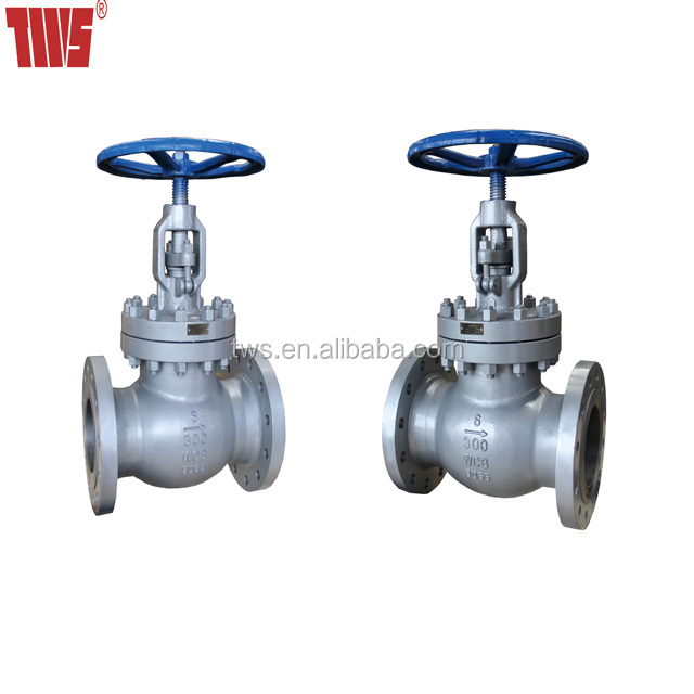 "10"" Class 150 Cast Steel Globe Control Valve with Rising Stem"
