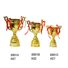 Wholesale high quality custom metal award funny trophy cup