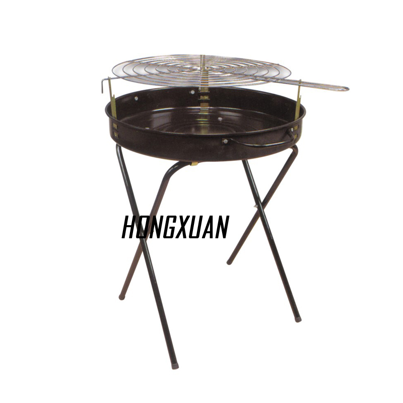 Mosquito Coil Style Grill / Portable Grill with Wheel Easliy Carrying Hamburg Grill Barbecue
