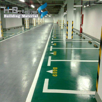 China exports professional durable good levelling epoxy floor paint