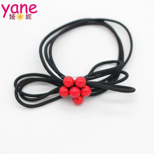 High quality rubber band with bowknot fancy children hair band elastic