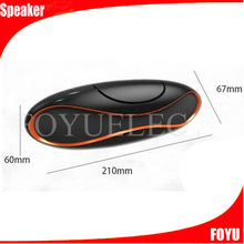 Rechargeable speaker all kinds of different colors rugby shaped speaker active karaoke speaker