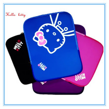 12 Inch Zipper Kitty Laptop Sleeve Zipper Carrying Notebook Bag Neoprene Zipper Laptop Bag