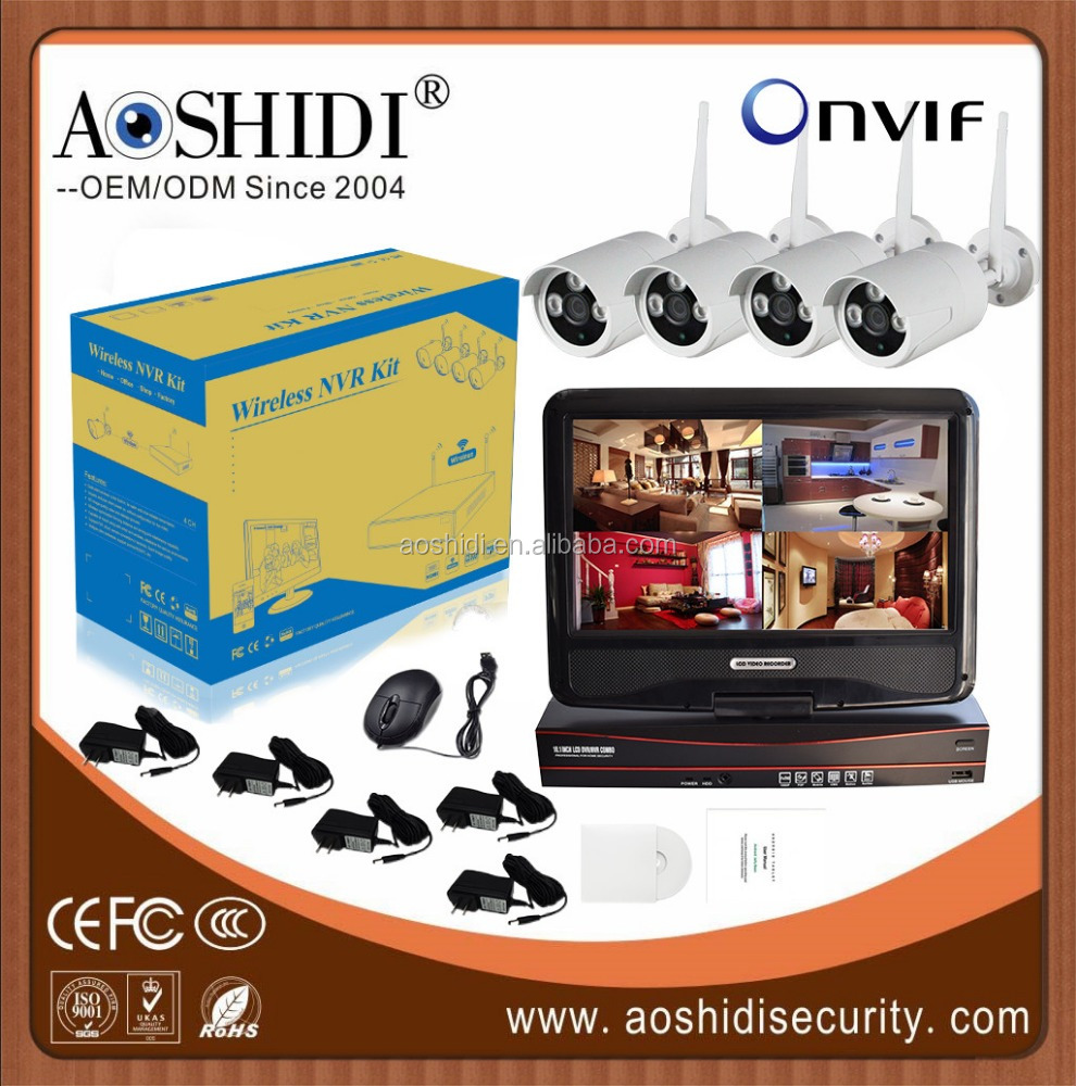 Shenzhen security cameras ip camera wireless,manufacturers oem 720p camera kit 1mp