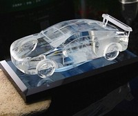 Fashion New 3D Crystal Car Model For Gift