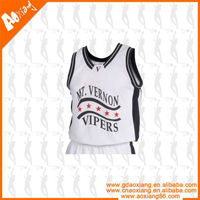 White Basketball Jersey and Short