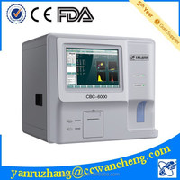 semi auto hematology analyser CBC-6000