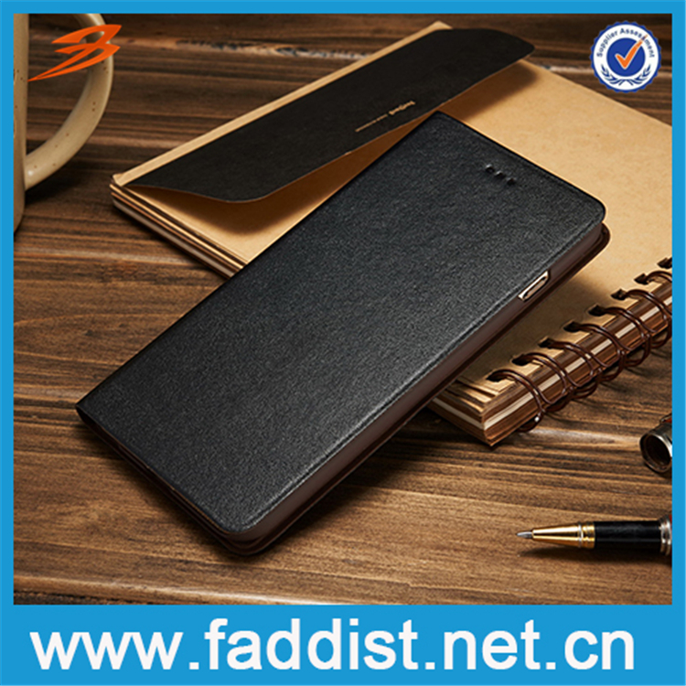High Quality Real Leather case with stand function Flip Case For iPhone 6s