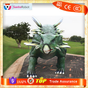 Metal animals art sculpture cast life-size animal sculpture