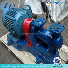 three screw pump for wind turbine lubricating and cooling
