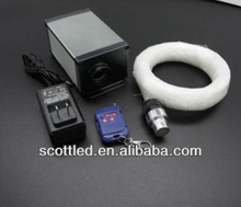 DMX fiber optic 5w ;dimmering function;decorative plastic fiber optic;led lights engine