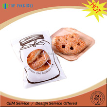 Self-adhesive printed laminated bag OPP / CPP food grade cookies packaging