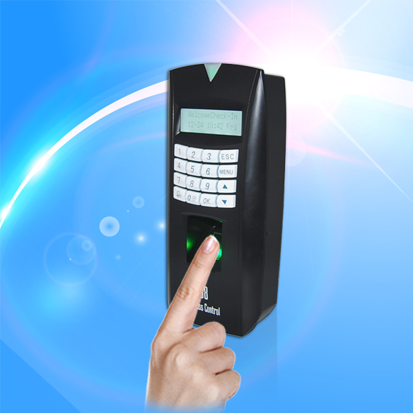 Fingerprint Access Control System with time recording support Auto status and DST
