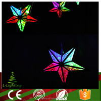 wholesale multicolor led decor star light for outdoor