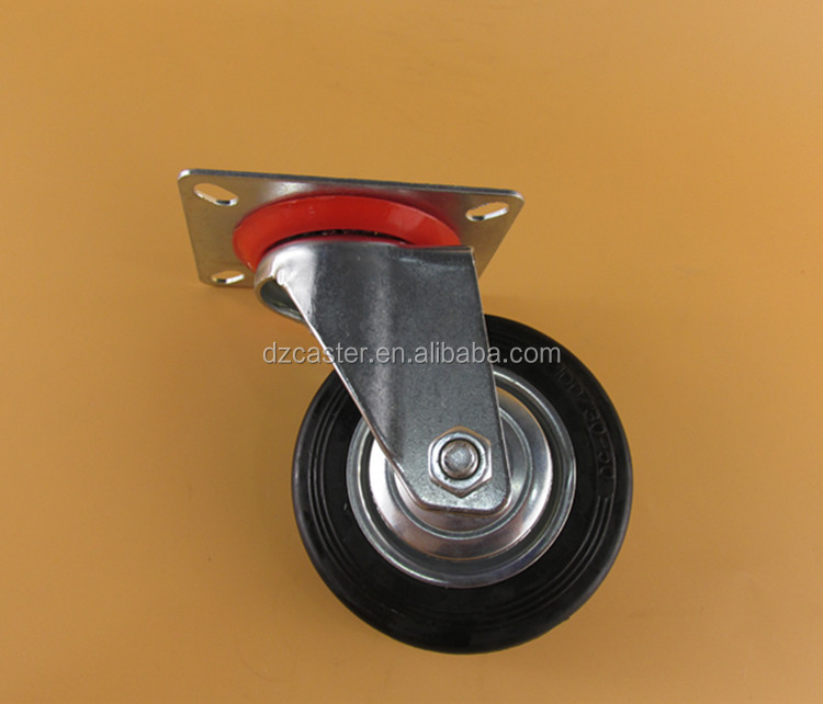 4inch 100mmCaster Wheel With Swivel Plate For Industrial ,caster wheel