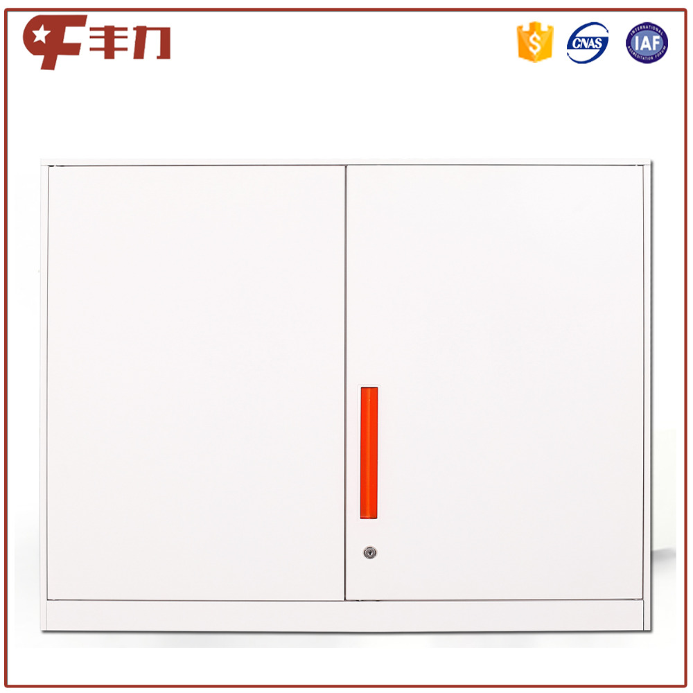 Two swing door steel small cabinet wall mount book cabinet