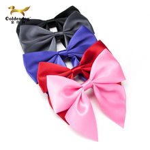 High quality wholesale fashion pre made mini satin ribbon bow