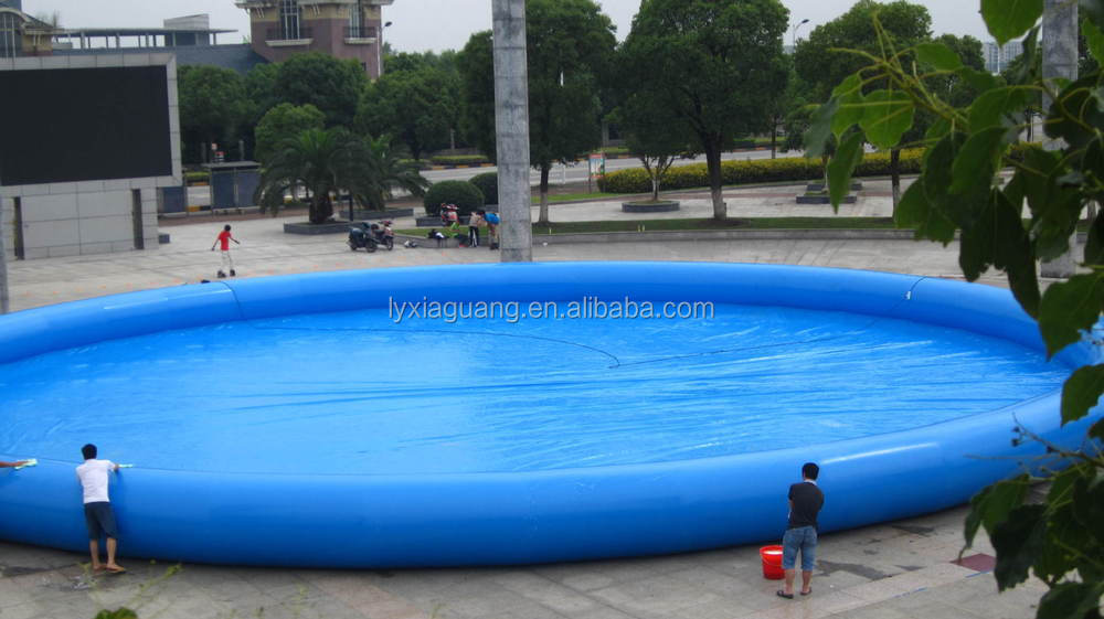 Outdoor Above Ground Giant Circle Inflatable Swimming Pools