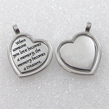 Yiwu Aceon Steel Inspirit When Someone You Love Becomes A Memory That Memory Becomes A Treasure Memory Pendant