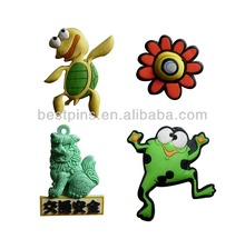 Custom 3D cute animal and plant fridge magnet