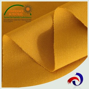 New design product high quality hot sale ponti roma 90 rayon 9 nylon 1 spandex fabric
