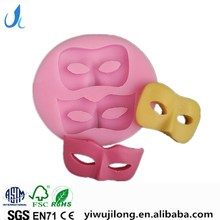 2016 new design Halloween Mask dance shape cake mould