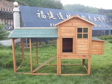 Wood chicken coop , Large animal cage ,hk-c-3001