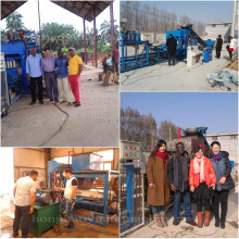 Concrete Masonry Unit(CMU) QTJ4-18 expandable polystyrene material EPS machine/EPS block machine/EPS foam block production