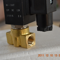 POV low price miniature high pressure solenoid valve 12v ac