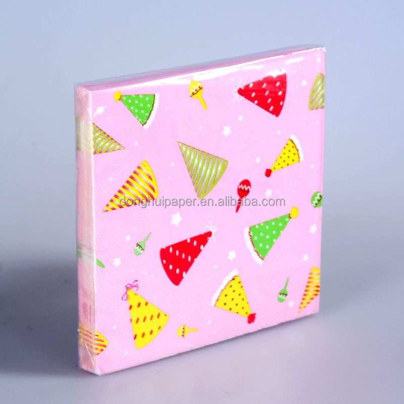 OEM Colorful Tissue Paper Napkins for Table Setting In Restaurant & Hotel,Party