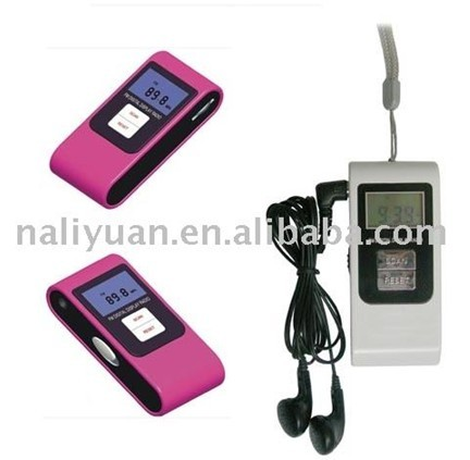 Mini FM digital radio receiver