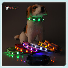 2015 New Products Substantial Durable Goods Pet Training Dog Led Collar