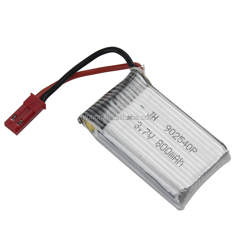 3.7V 800mAh LiPo Battery Pack 25C 1S with JST Plug for RC Quadcopter F181 MJX X400 X400W X800 X300C X200 X500 RC Quadcopter Part