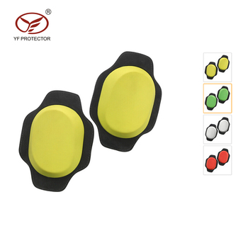 Motorcycle slider knee racing Safety Protector Removable Hook-and-loop Fastener Knee Sliders 3 color to choose