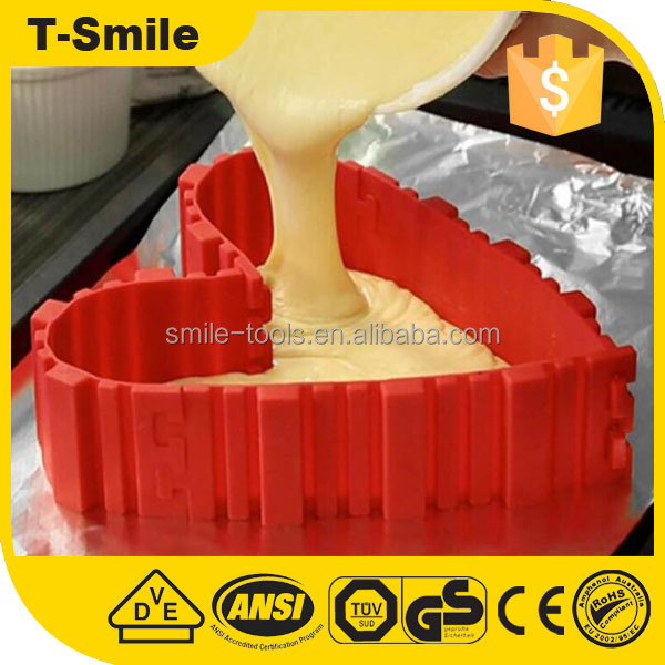 Food grade silicone cake tools flexible baking mold