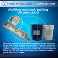 Electronic pouring silicone rubber for LED driver