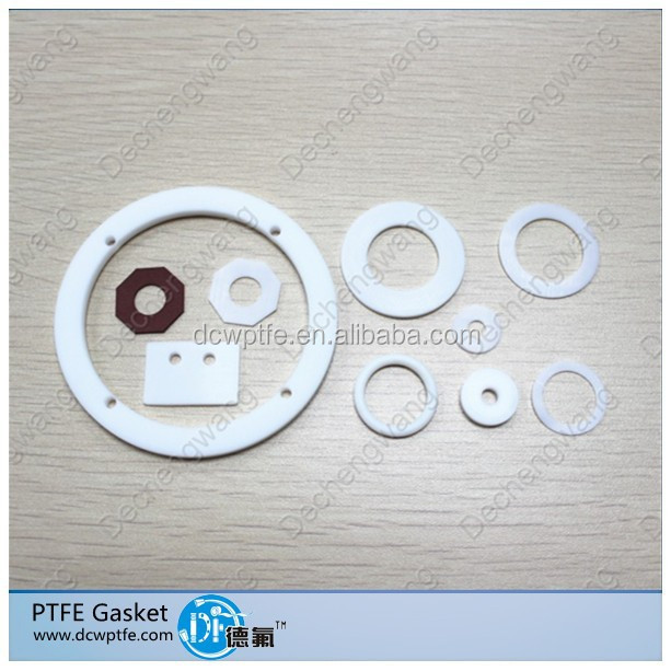 Ptfe flange gasket,Teflon spacer,F4 shim,45mm OD 18mm ID 3mm Thickness