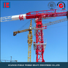 erect travelling tower crane drawing