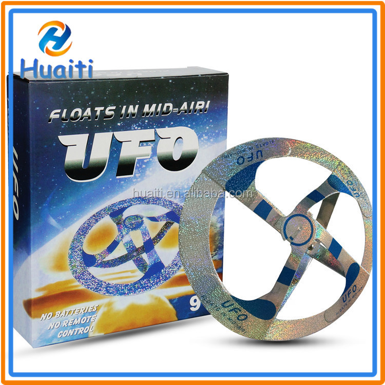 2017 new product my mystery ufo magic suspended flying ufo spinner hover magic ufo toy