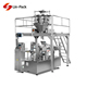 Automatic packaging machine for roasted peanuts