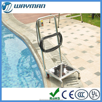 Davey swimming pool stainless steel trolley